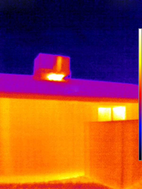 FLIR Thermal Image Air Conditioner