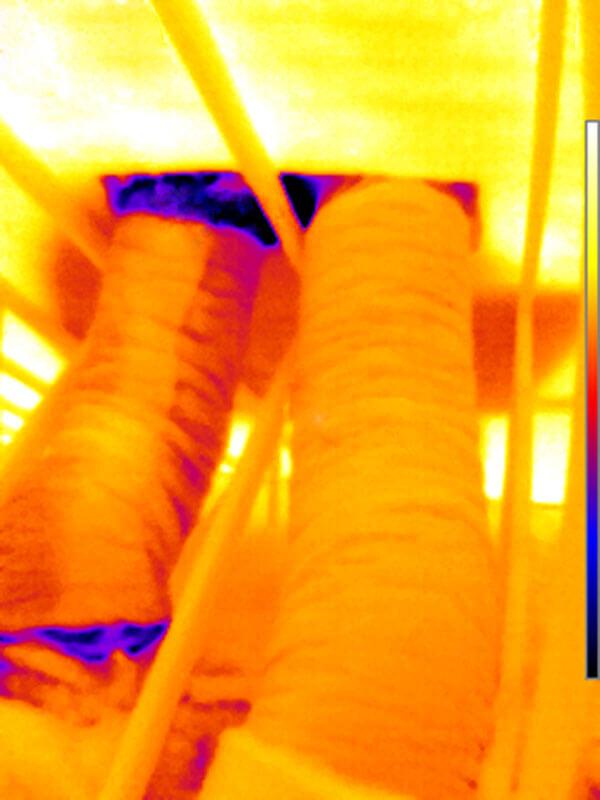 FLIR Thermal Image Air Duct